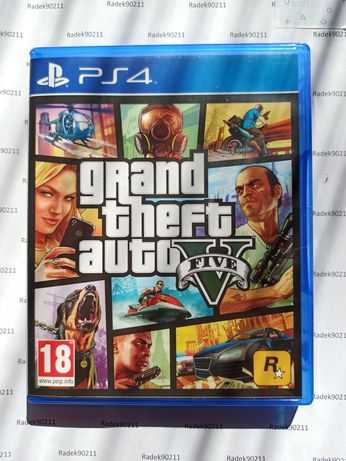 GTA V 5 Grand Theft Auto V 5 PS4 PlayStation 4 PS5