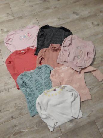 Śliczne bluzy i sweterki 110-116.
