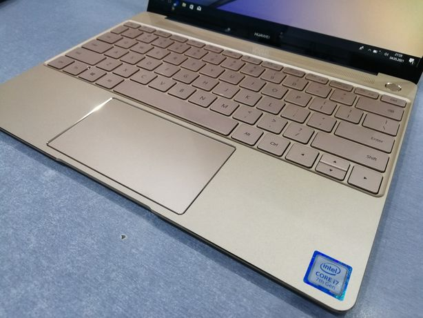 laptop Huawei MateBook X (WT-W19A) 512GB/8GB/i7-7500U Prestige Gold gw