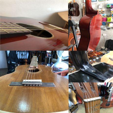 Ремонт гитар, настройка музыкальных инструментов