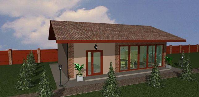 Планы этажей, модель дома, проект дома, строительство коттеджа
