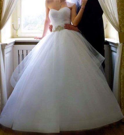 Suknia ślubna dla księżniczki USA