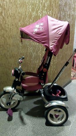 Детский трехколесный велосипед Turbo Trike М 2723-2