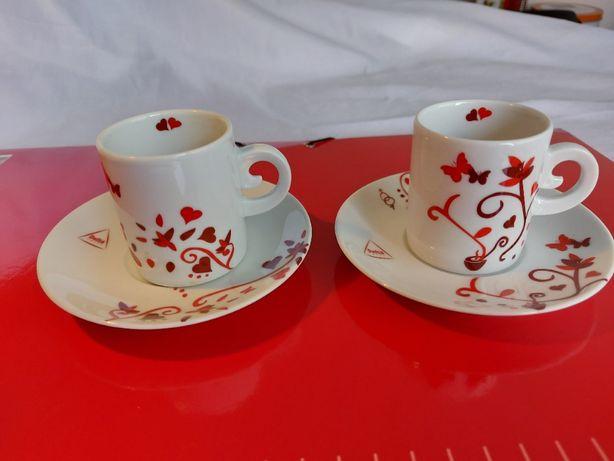 """Chávenas Delta - Coleção """" Dia dos Namorados 2008 """""""