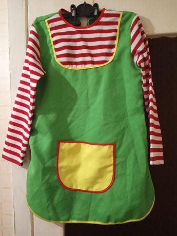 Клоунесса клоуна костюм платье клоунессы красной шапочки