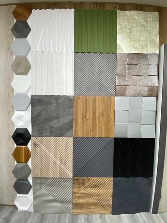 Гіпсові 3Д панелі,гіпсова плитка,декоративний гіпс,декоративний камінь
