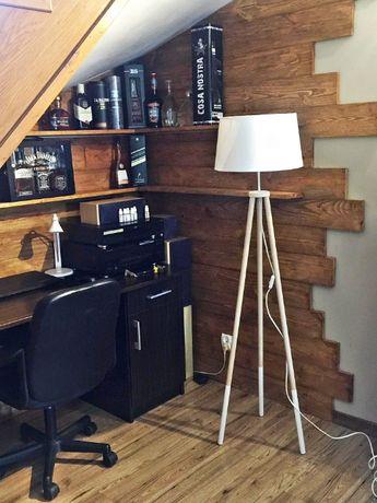 Trójnóg-lampa podłogowa, podstawa tripod, nowoczesny design