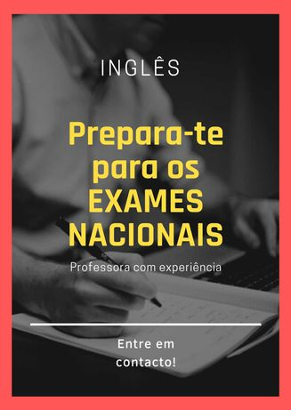 Aulas Online para preparação dos EXAMES NACIONAIS de Inglês
