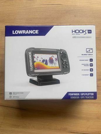 Эхолот Lowrance Hook2 4x GPS Bullet НОВЫЙ\ГАРАНТИЯ