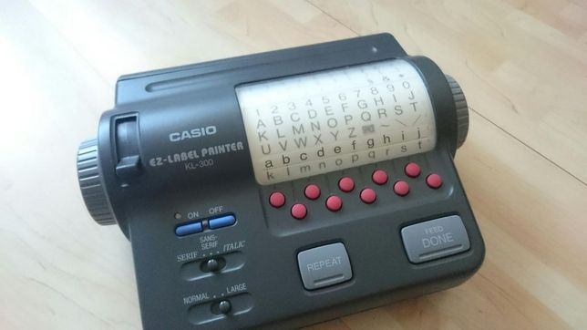 Drukarka Casio Kl-300
