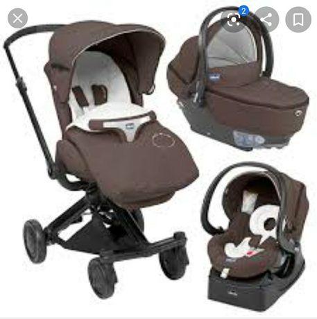 Дитяча коляска чіко, Chicco trio I move, детская коляска чико