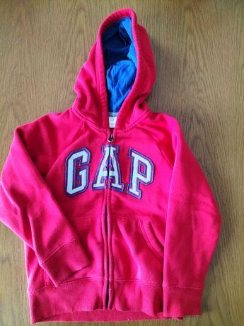 GAP (original) - Logo Hoodie com zip e bolsos 5A