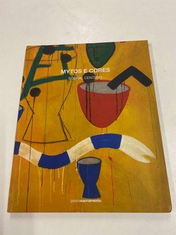 Livro de Arte de capa dura do artista Sobral Centeno