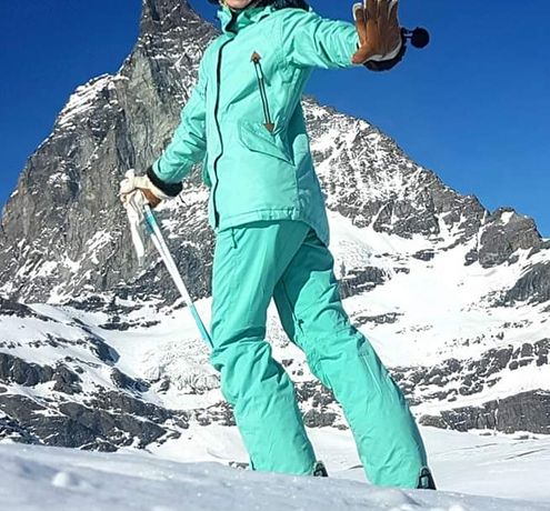 Костюм горнолыжный, куртка лыжная, штаны лыжные