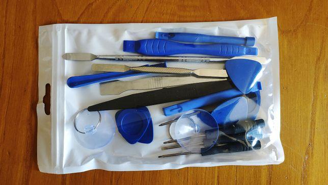 Kit ferramentas de reparação telemóvel, tablet, smartphone, portátil