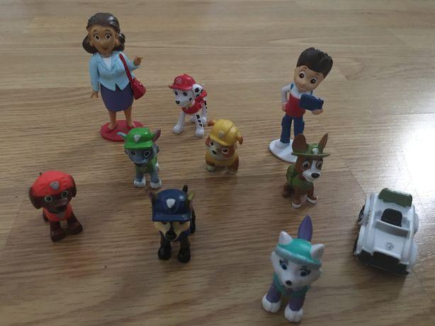 Figuras para topo de bolo da patrulha pata