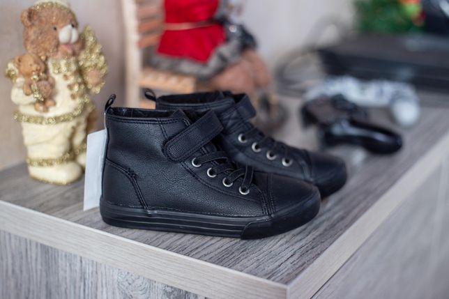 Демисезонные ботинки кеды 28