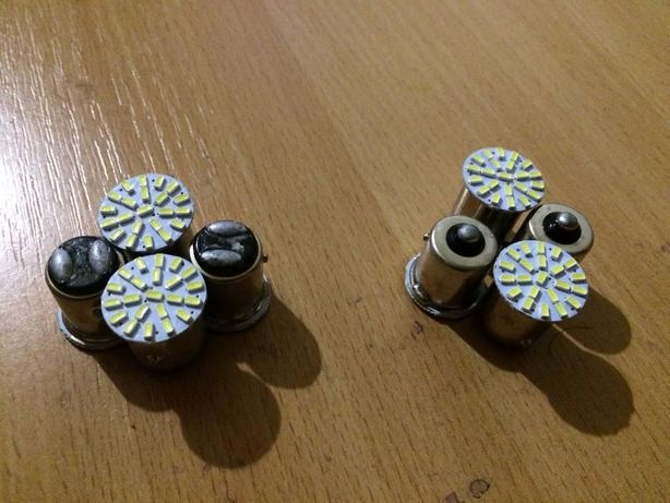 Продам светодиодную авто лампу одноконтактную и двухконтактную