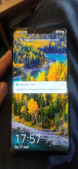 Huawei Mate 20 pro Original, 6/128Gb трещина в нижнем углу
