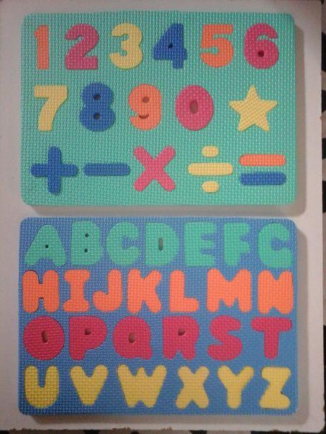 Puzzle DIDÁTICO Crianças-Abecedário e Números-OFERTA de portes!