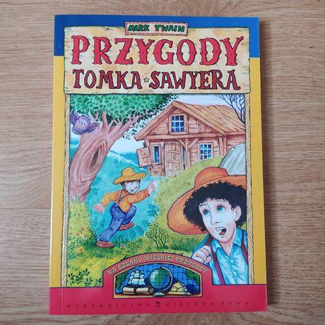 """Książka """"Przygody Tomka Sawyera"""" Mark Twain"""