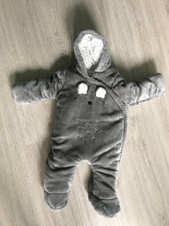 Zimny kombinezon dla dziecka 6-9 mięsiący
