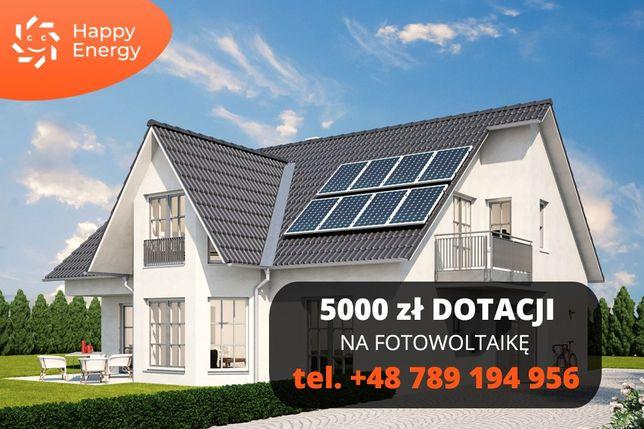 Instalacja fotowoltaiczna,panele słoneczne,fotowoltaika dopłata 5000zł