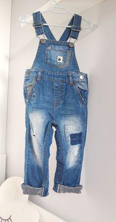 Ogrodniczki 80/86 Next Zara h&m dżinsy