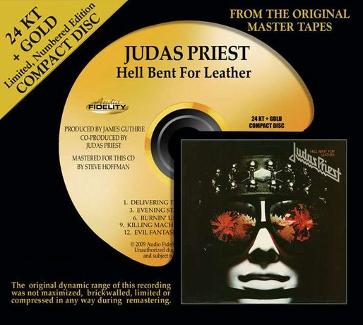 CD Judas Priest-Hell Bent For Leather (A.F. Gold U.S.A.)