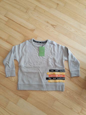 Cienka bluza Reserved r. 104, 100% bawełny