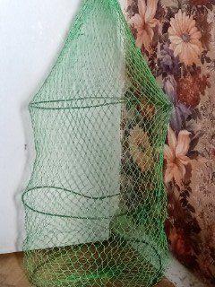 Садок для рыбы рыбалки на три кольца