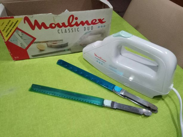 Faca elétrica Moulinex