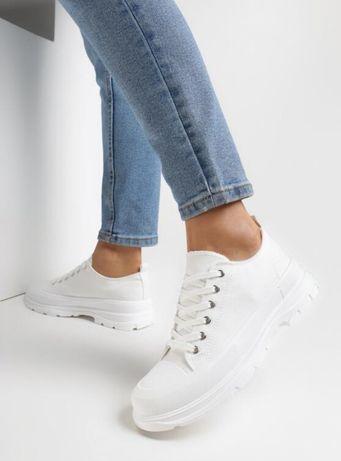 Trampki white shoes