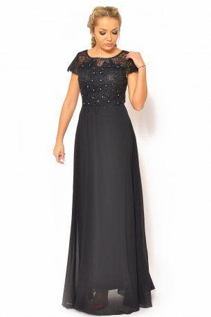 Sukienka wieczorowa 44-46 czarna