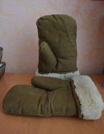 Зимние рукавицы (армейские)