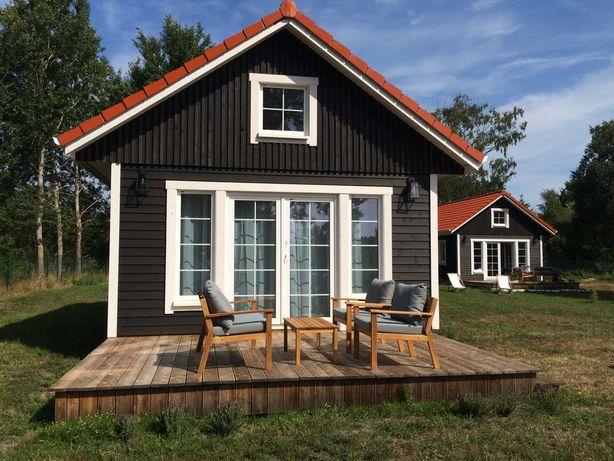 Całoroczne, drewniane domki nad morzem - Smołdziński Las