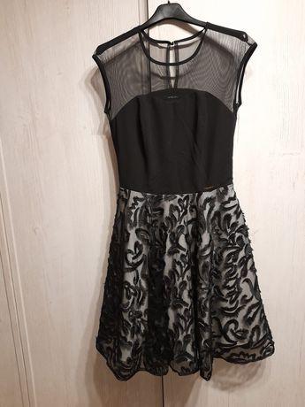 Czarna elegancka sukienka Ette Lou rozm 34