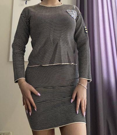 Костюм женский(кофта и юбка)