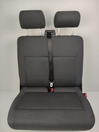 Dwójka RÓŻNE WZORY Ławka Kanapa VW T5 T6 T6.1 Wymiana na Jedynkę