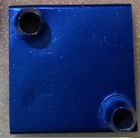 Водоблок 40*40 мм для систем водяного охлаждения компьютера СВО.