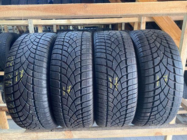 Шини зимові 255/45R20 Dunlop SP Winter Sport 3D 4шт 7-8мм 17рік