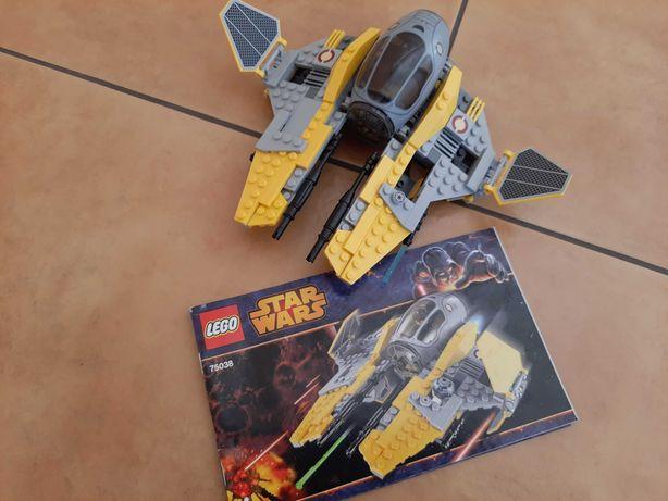 Lego star wars 75038 Jedi Interceptor instrukcja
