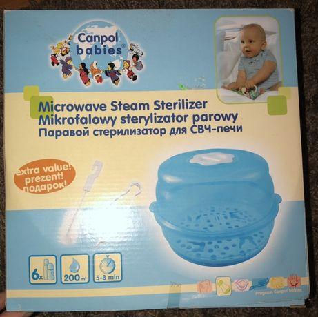 Паровой стерилизатор Canpol babies для СВЧ-печи