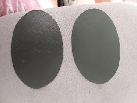 Joalheiras/Cotoveleiras em Pele Verde Seco (Novas)