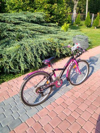 Rower dziewczęcy BTWIN 24 cale