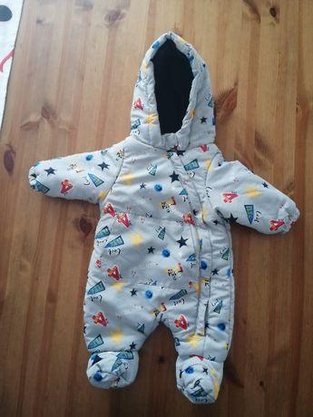 Kombinezon zimowy niemowlęcy - r. 62