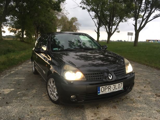 Renault Clio II 1.5dci 82KM Klimatyzacja