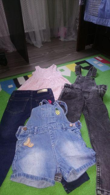 Продам пакет вещей для девочки Zara ,Hm.
