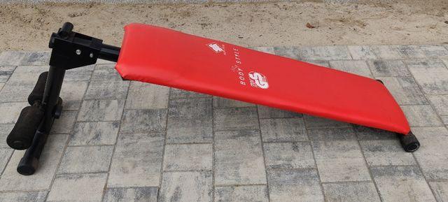 Ławka ławeczka skośna do ćwiczeń, siłownia