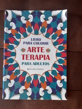 Livro para colorir, Arte e terapia